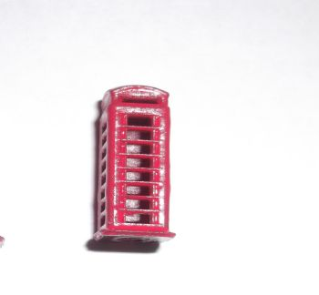 N Scale Telephone Box